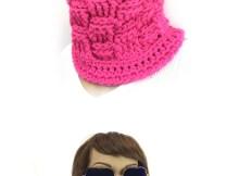 Super Bulky Basket Weave Cowl - Free Crochet Pattern