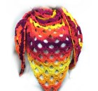 Sunset Arches Shawl - Free Crochet Pattern