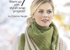 Cozy Shawls and Scarves - Crochet Pattern Book by Leisure Arts