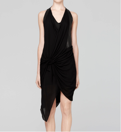 Lush voile dress by Helmut Lang