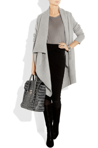 Donna Karan oversized cardigan available at www.netaporter.com