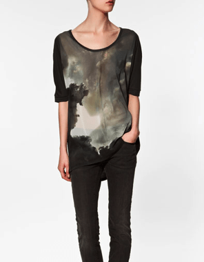 T-SHIRT WITH PRINTED PHOTO by Zara 22.95 EUR