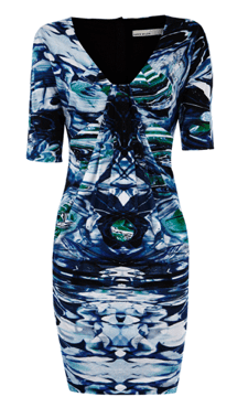 Fluid marble print dress €175.00 by Karen Millen