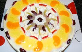 Goddess Mandala Cheesecake 3