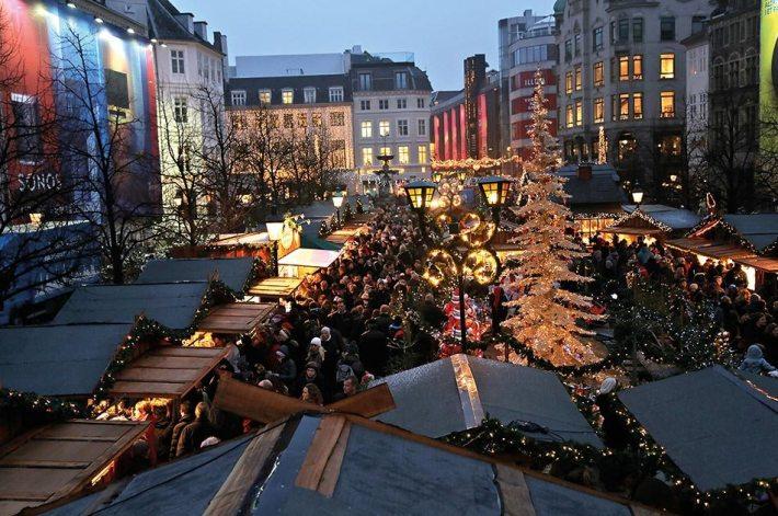 Julemarkedet på Højbro Plads