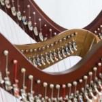 3 harpes alignées