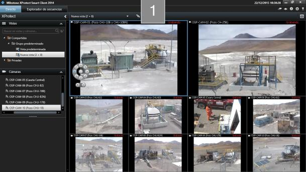 Monitoring and remote operation of water pumping systems - Codelco - Ojos de San Pedro Station