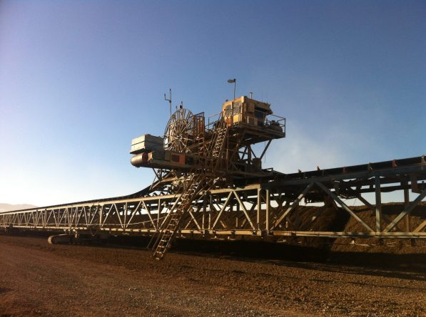 Teleoperation of Large Machines: Stacker and Bucket Wheel, Chiquicamata, Codelco
