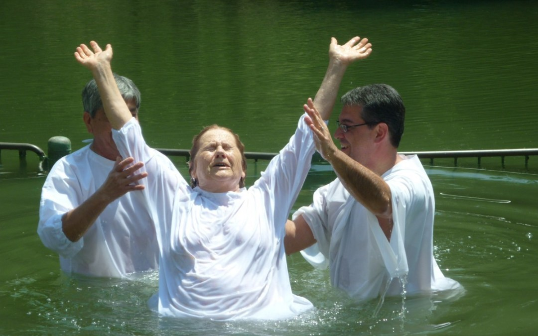 Getting Baptized Again in Jesus Name