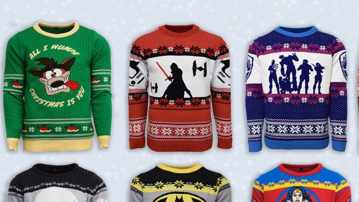 Numskull Unveils New Designs For Their Gaming Jumpers This