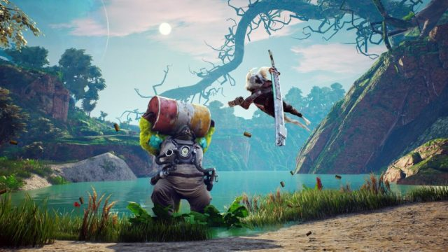 An hour of Biomutant gameplay   GodisaGeek.com