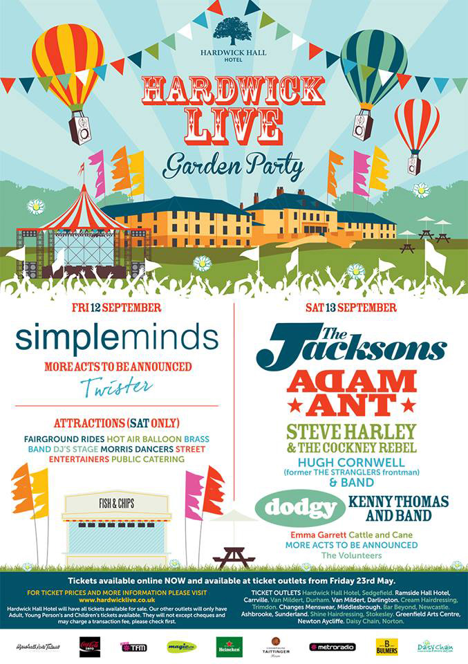 PREVIEW: Hardwick Live Garden Party