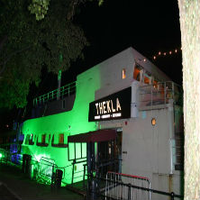 Bristol's Thekla hits dry land