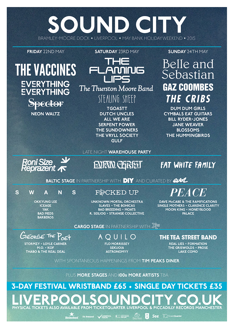 Liverpool Sound City – Liverpool Docklands, 21st – 24th May 2015