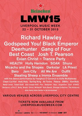 PREVIEW: Liverpool Music Week 2015