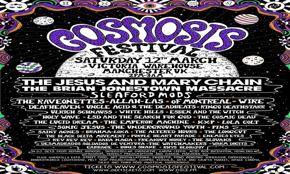 PREVIEW: Cosmosis Festival, Manchester, 12th March 2016
