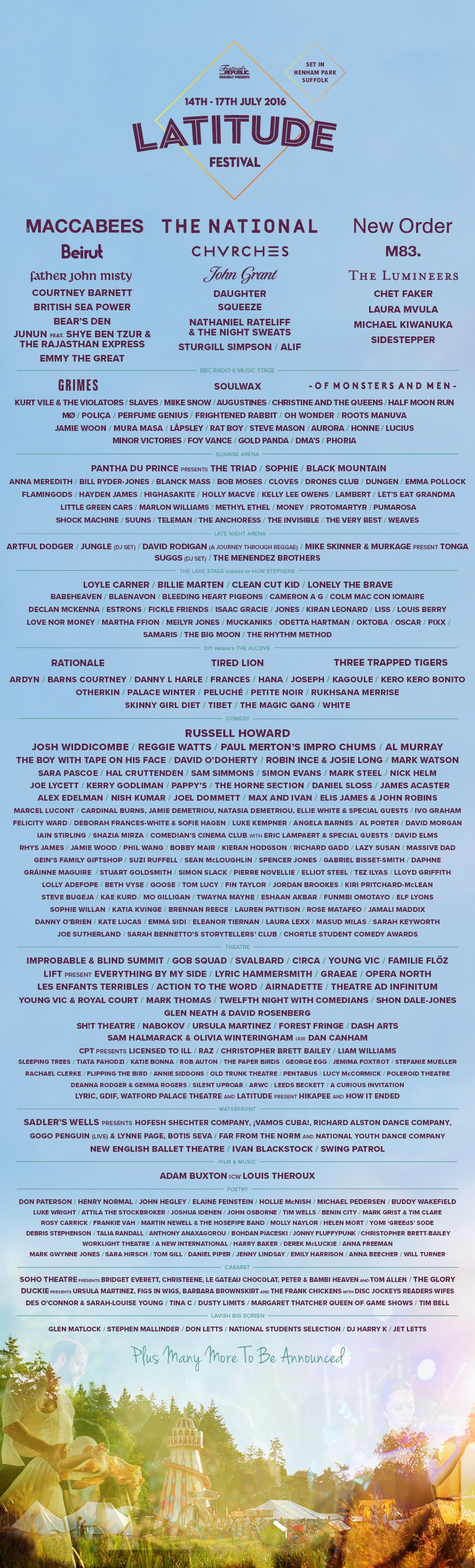 NEWS: Latitude Festival announces its dance line-up plus more theatre and music acts