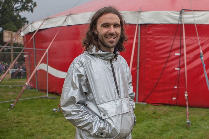 Green Man 2016:  Interview with Mark Daman Thomas