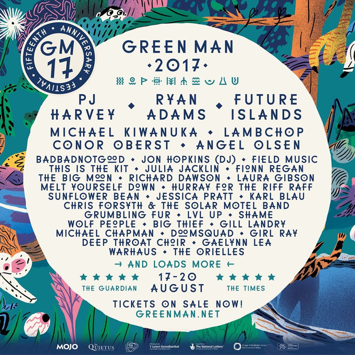 NEWS: Green Man Festival announces first three 2017 headliners