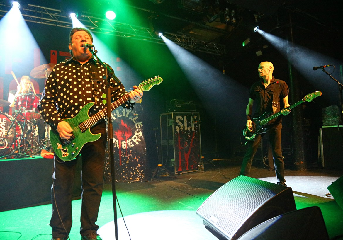Stiff Little Fingers 40th Anniversary Tour / Theatre Of Hate – Rock City, Nottingham, 21/03/2017