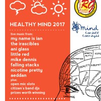 My Name Is Ian, Ani Glass, Mike Dennis amongst names for Healthy Mind Fundraiser in Cardiff this Summer