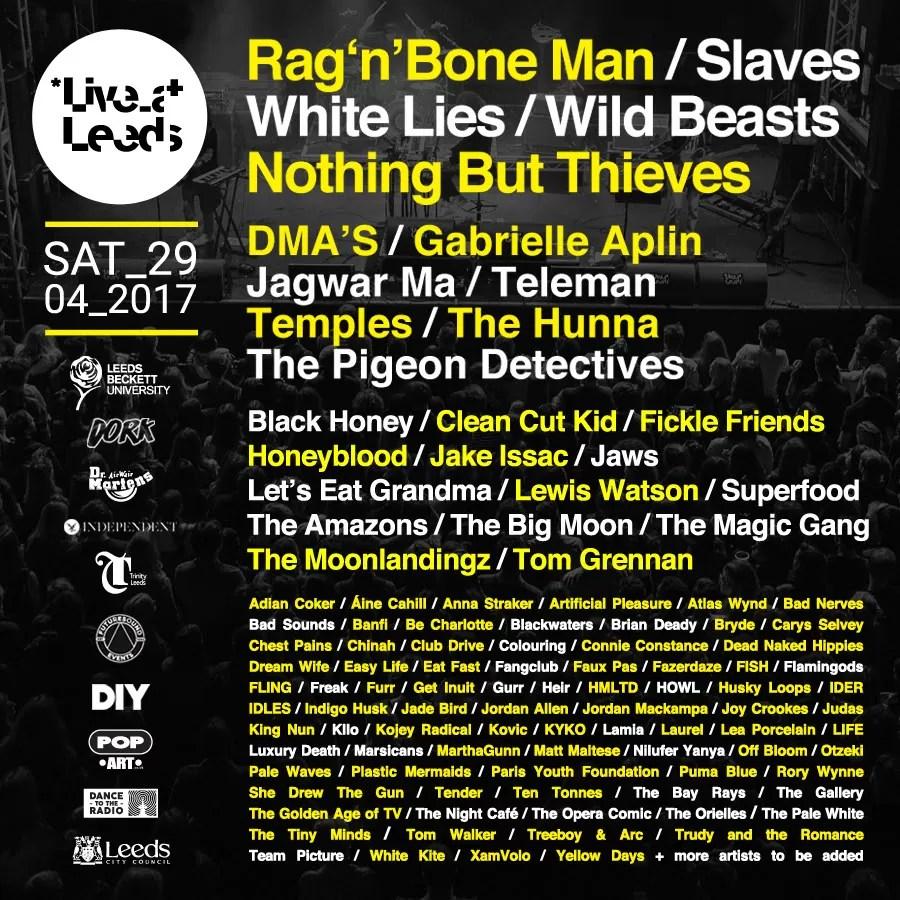 FESTIVAL REPORT: Live at Leeds 2017