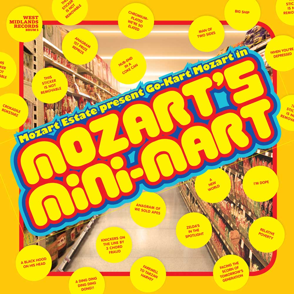 Go-Kart Mozart - Mozart's Mini Mart (Cherry Red)