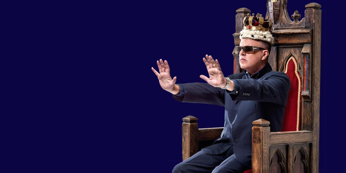 Suggs: What A King Cnut – De Montfort Hall, Leicester, 08/02/2018