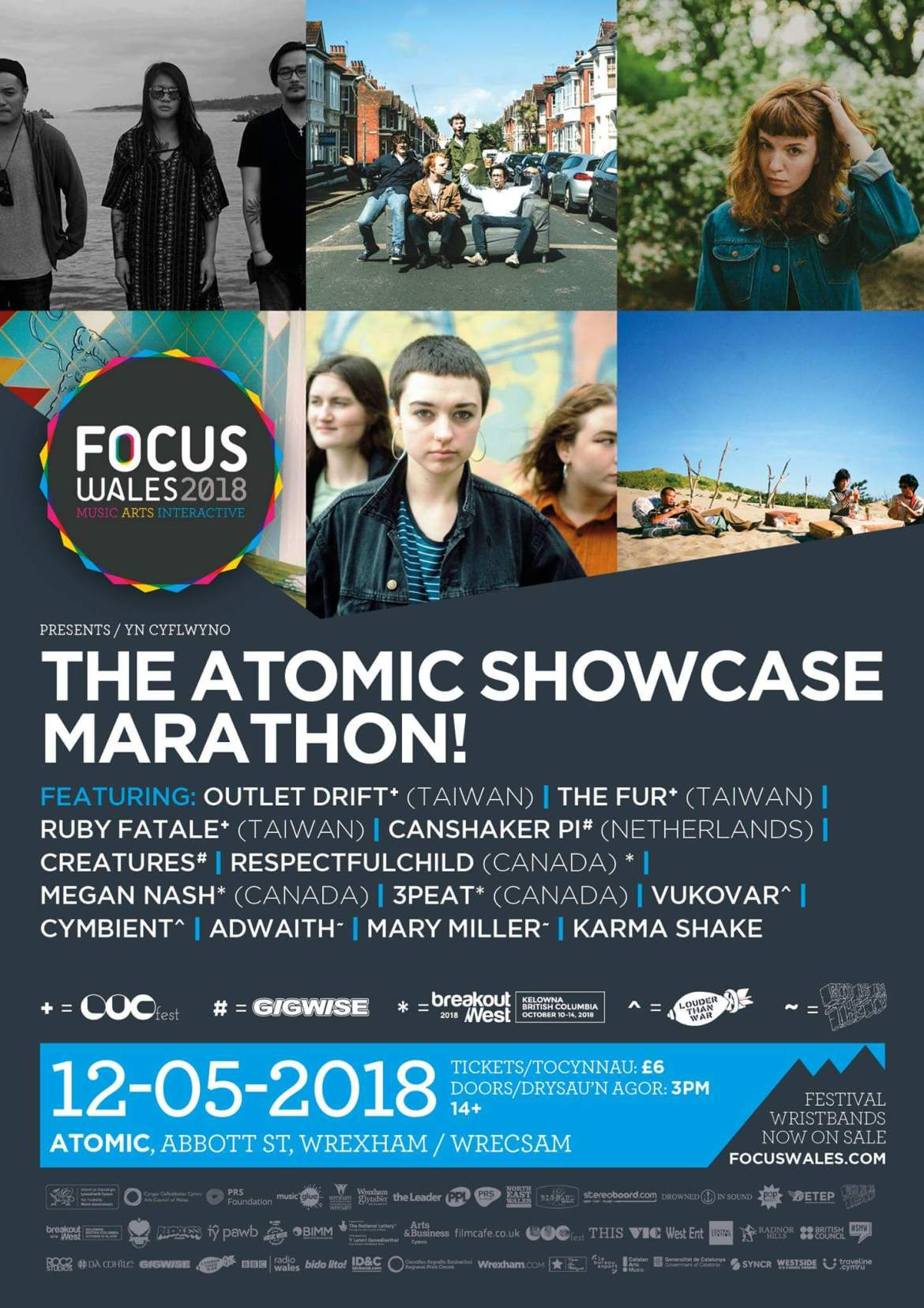 NEWS: Adwaith & Mary Miller our picks for The Atomic Showcase Marathon at FOCUS Wales