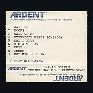 Primal Scream – Give Out But Don't Give Up: The Original Memphis Recordings (Sony)