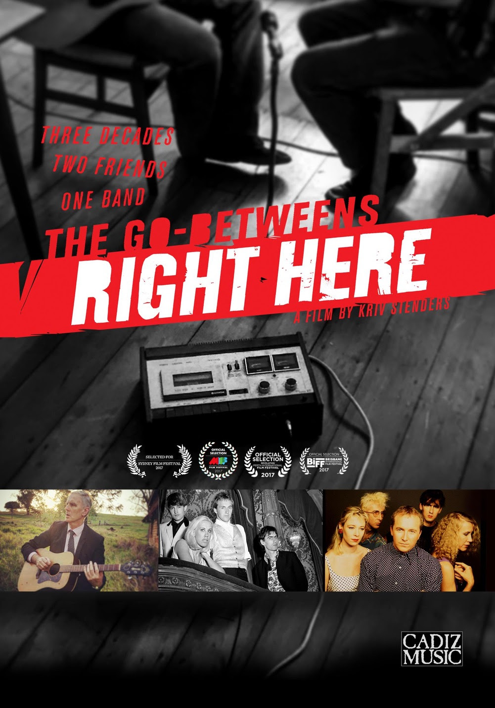 NEWS: 'The Go-Betweens: Right Here' a new documentary out now on DVD