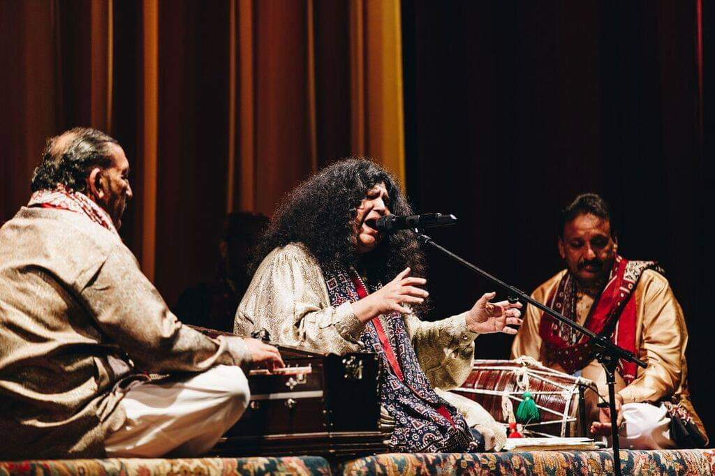Abida Parveen ft  Nahid Siddiqi – Lyric Theatre, The Lowry, Salford
