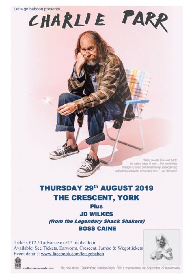 PREVIEW: Charlie Parr & J.D. Wilkes at The Crescent in York