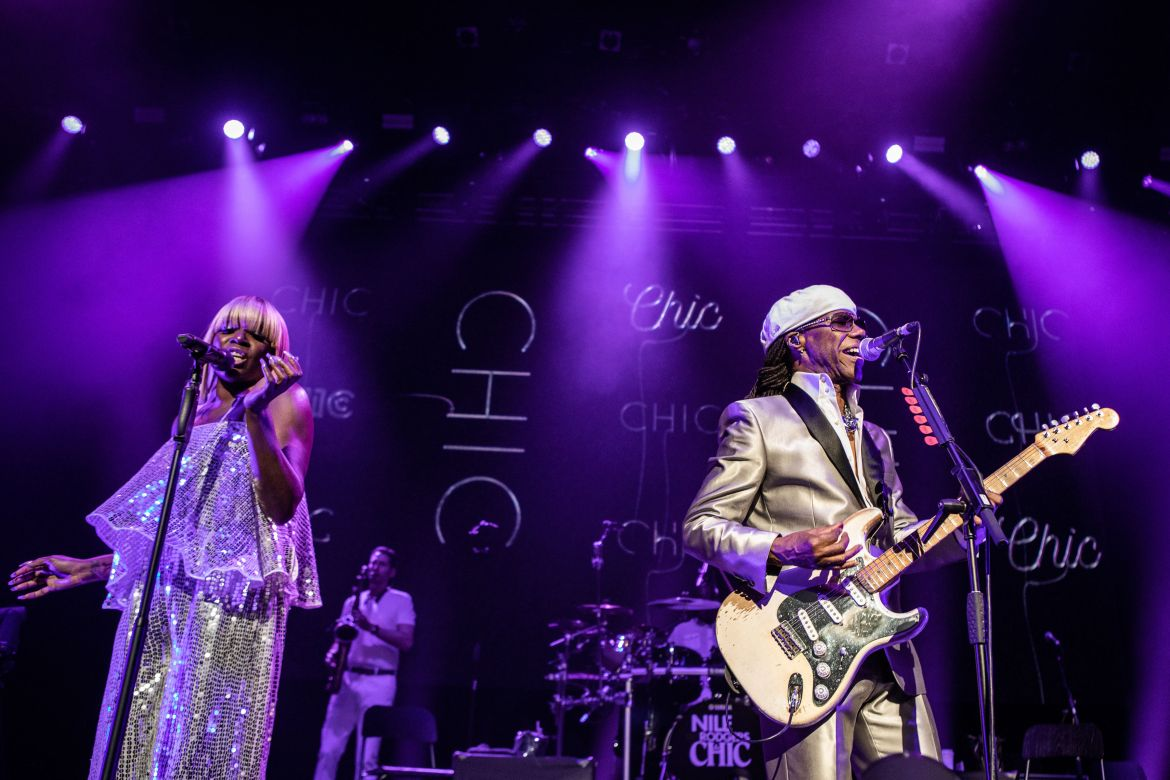 Nile Rodgers & Chic  – Festival Hall, London, 03/08/2019