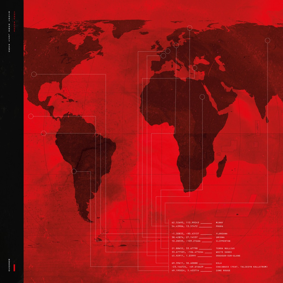 Right Hand Left Hand – Zone Rouge (Bubblewrap Records)