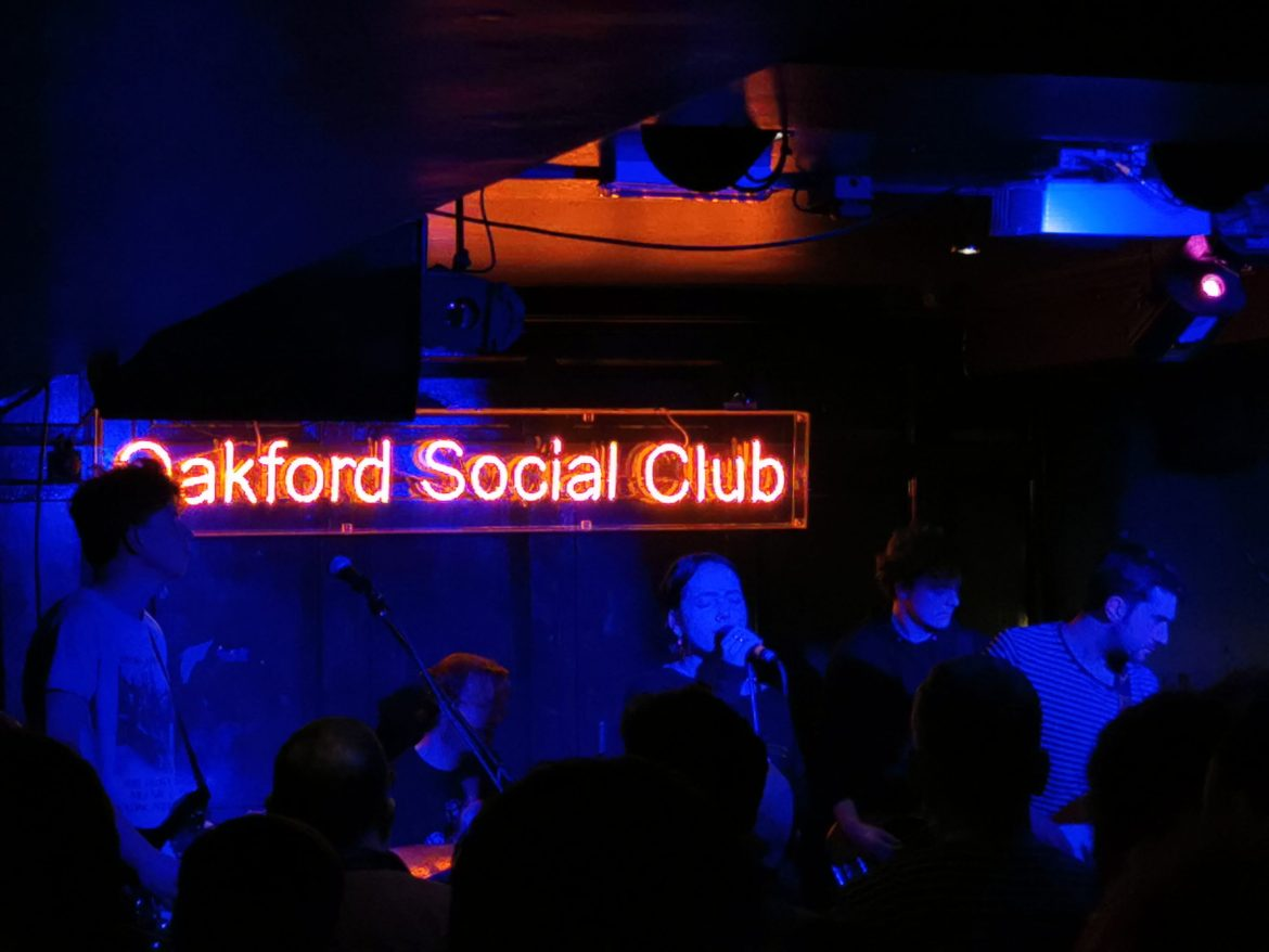 Just Mustard – Oakford Social Club, Reading – 15/1/2020