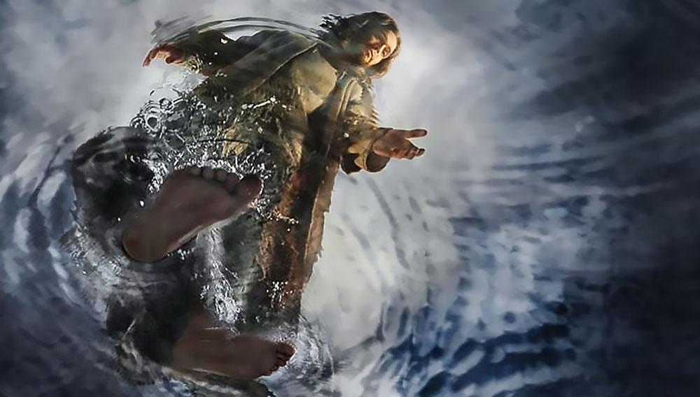 Hasil gambar untuk walking on water john