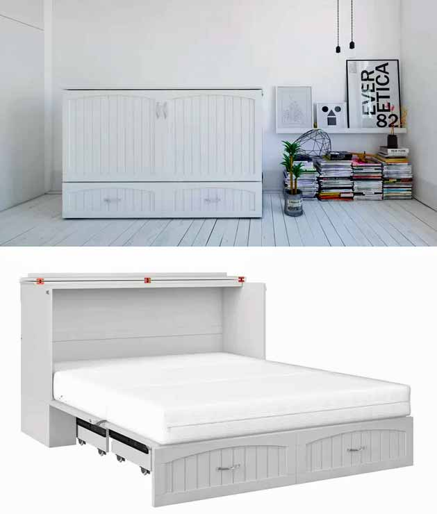 9 affordable murphy beds that just