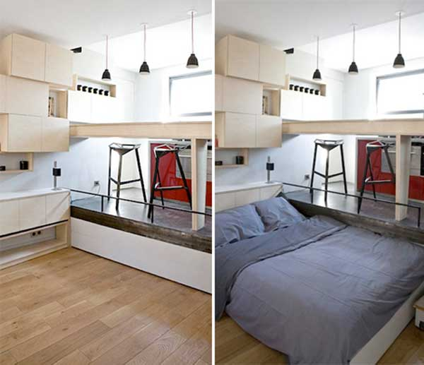 Clever Bed Solutions For Small Es