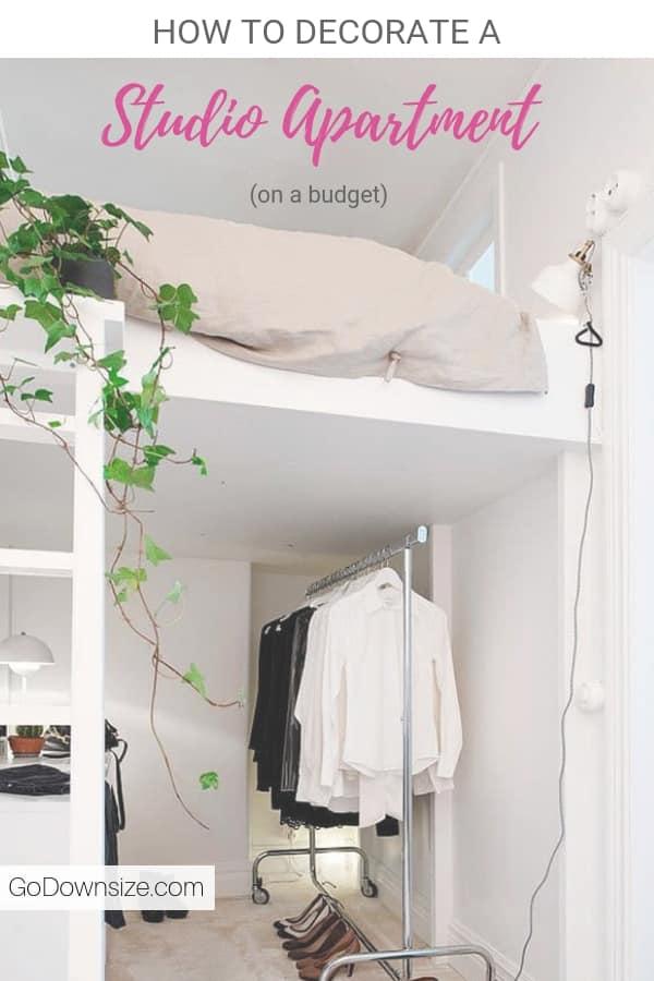 35 Ways To E Optimize A Studio Apartment On Budget