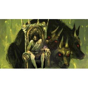 Mutable Mythology Dogs Norse Mythology Print Titian Venus