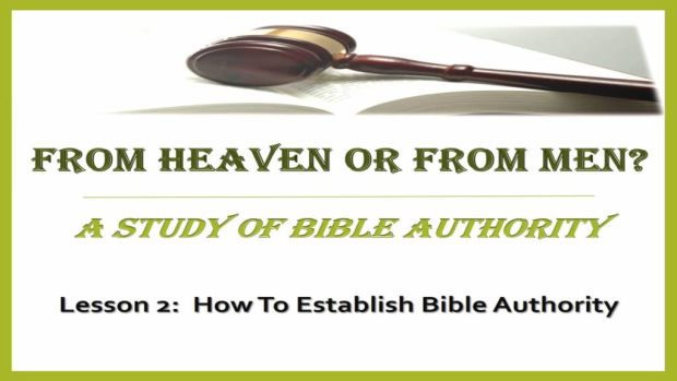 2_-_How_To_Establish_Bible_Authority_Title_Pic