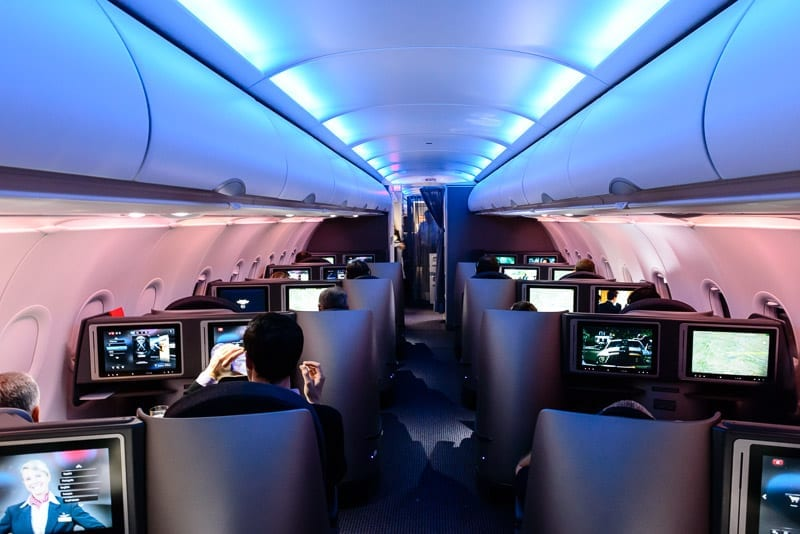 American Airlines A321 Business Class