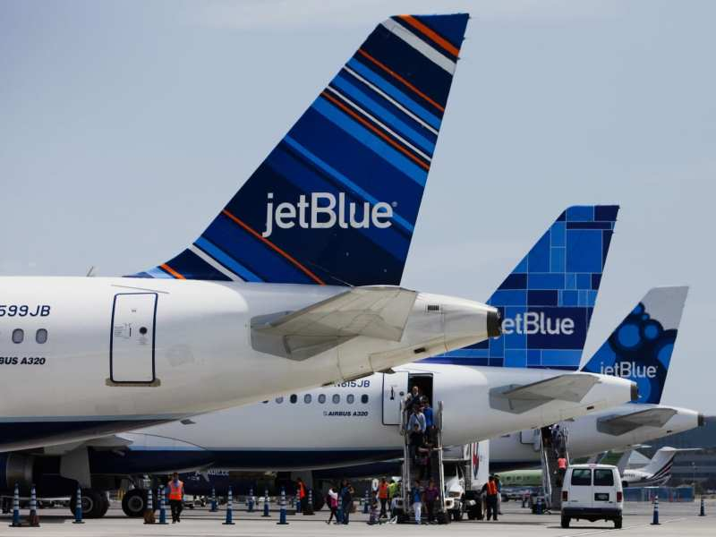 JetBlue Terminal At Long Beach