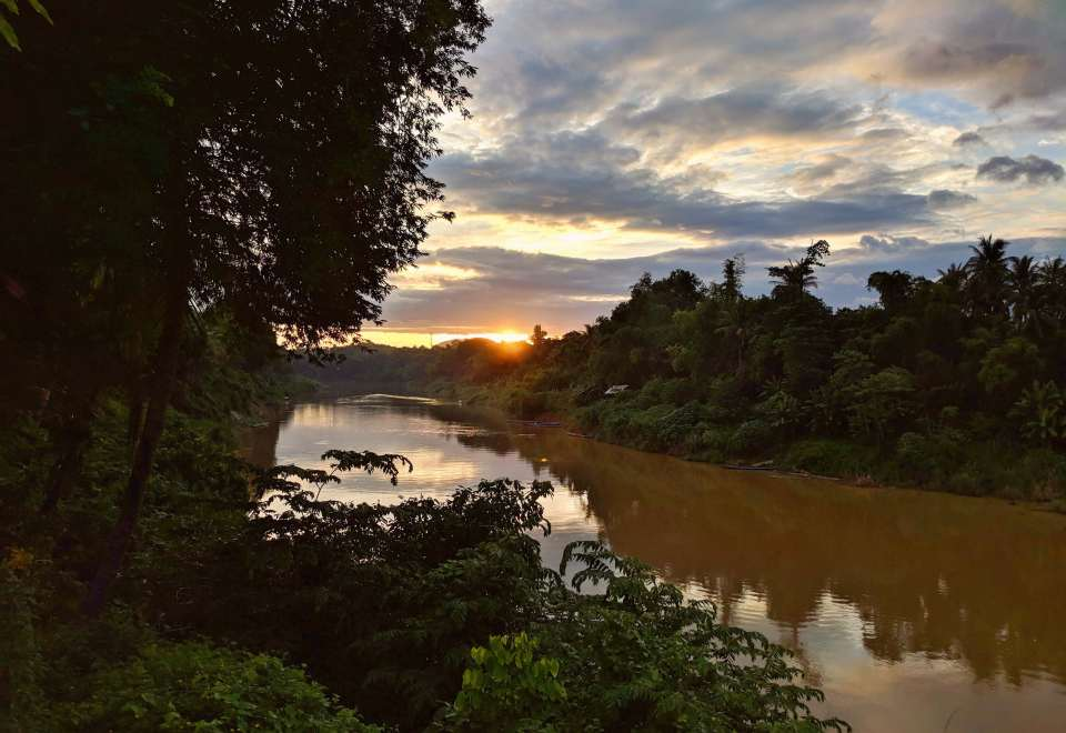 Luang Prabang river view.
