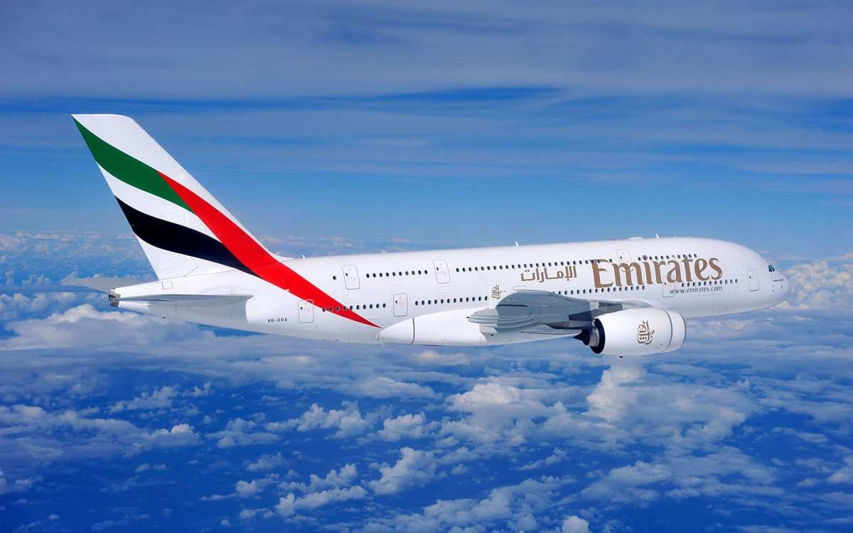 Photo of Emirates a380 flying