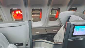British Airways Upper Deck Club World Seat