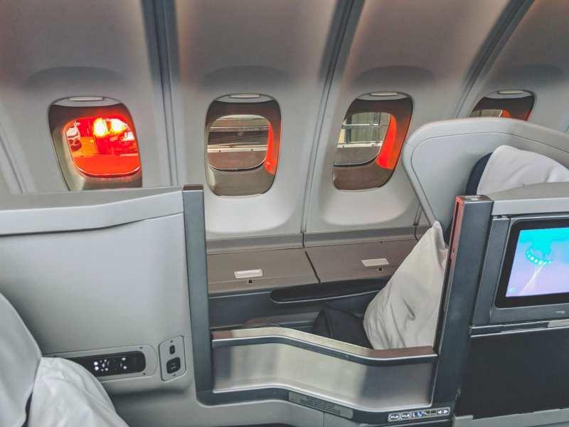 British Airways Upper Deck Club World Seat