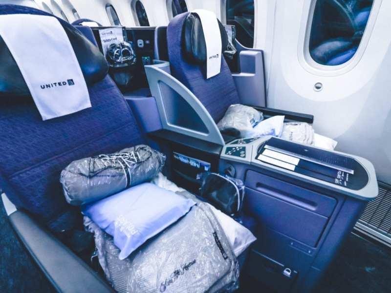 united 787-9 polaris business