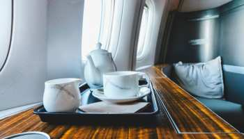 Cathay Pacific First Class Tea